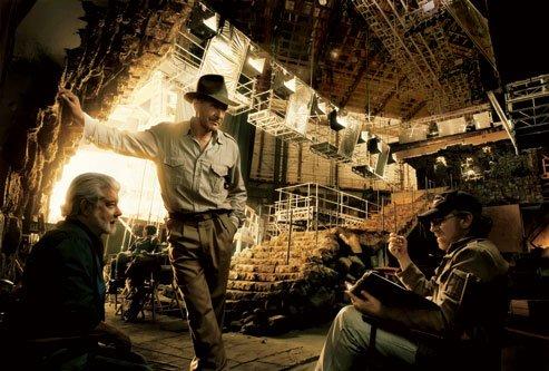 Film - Photos cocasses durant les tournages de grands films. (2/6)
