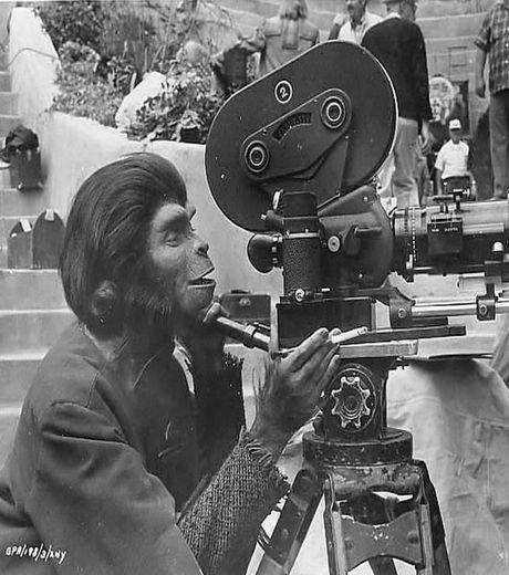 Film - Photos cocasses durant les tournages de grands films. (3/6)