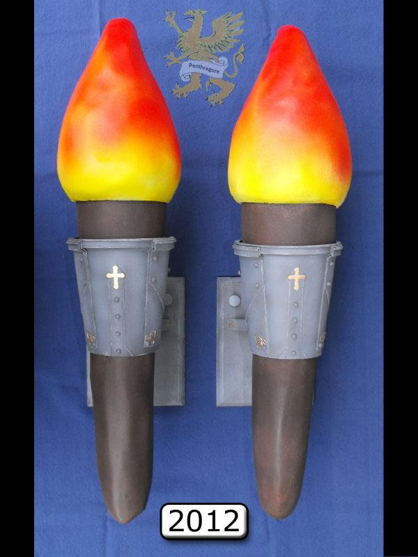 Torches Murales Médiévales (1/6)